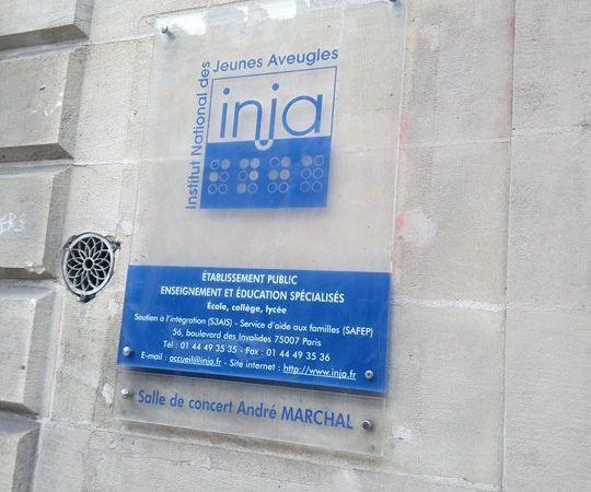 Visite de l'INJA