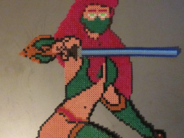 Warrior hama beads