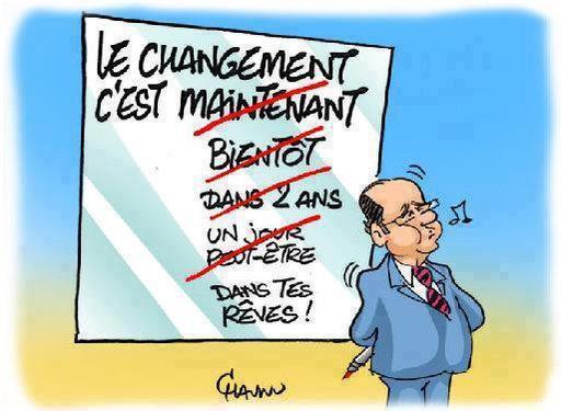 HUMOUR DE LA POLITIQUE !