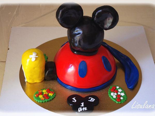 """Gâteau """"La maison de Mickey"""""""