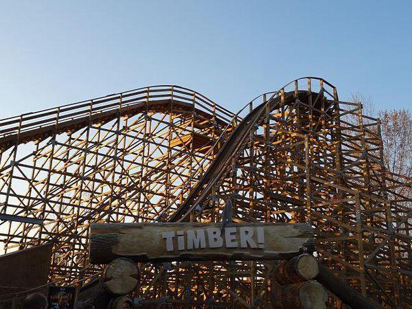 Le Timber, nouvelle attraction à Walibi
