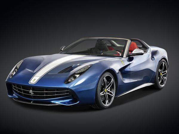 Ferrari F60 America: premières images