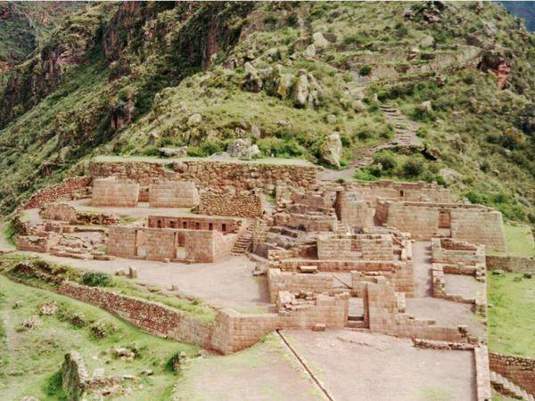 2000 février Pérou avec ma mère