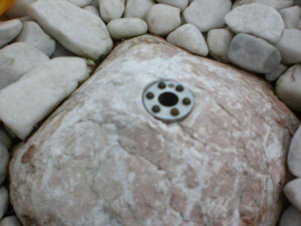 Idealeben Brunnen Wasserpumpe mit LED-Ringbeleuchtung im Test...