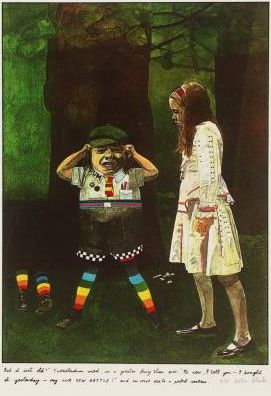 "Peter Blake ""Through the Looking-Glass ..."", 1970"