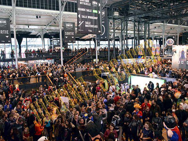 La Comic Con, c'est ça ! Où est le plancher ???