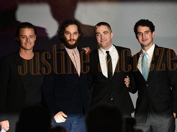 Josh Safdie, Benny Safdie, Robert Pattinson et Oscar Boyson réunis pour l'Avant-Première du film Good Time !