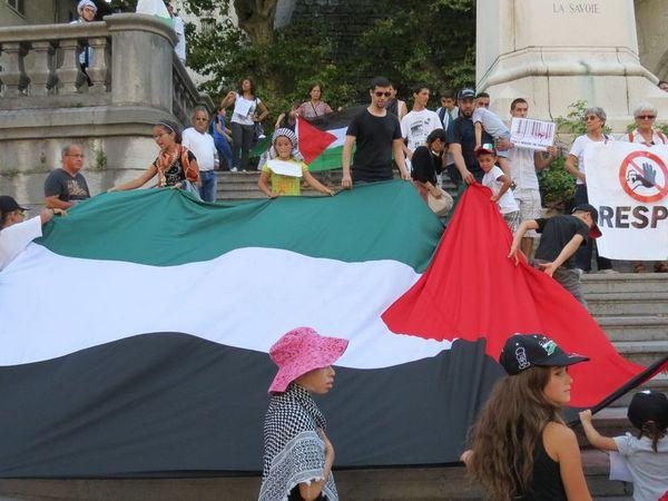 manifestation du samedi 9 août 2014