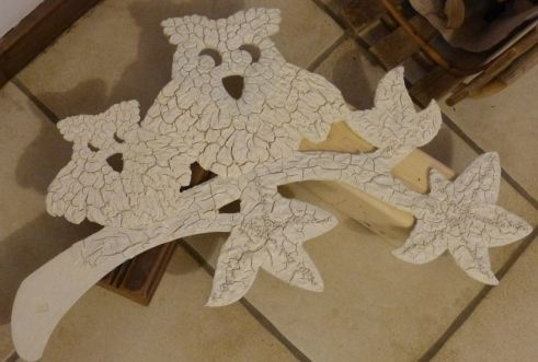 1iere couche powertex ivoire et stone'art puis Esy 3D Flex ensuite  bister et les psst ...
