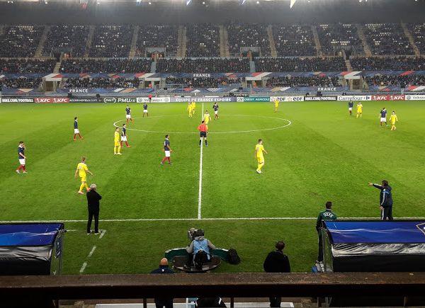 Victoire de la France Espoirs contre l'Ukraine à Strasbourg