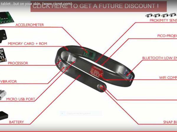 Informatique: Avec le bracelet Cicret, finie la tablette