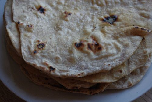 Chapatis indiens