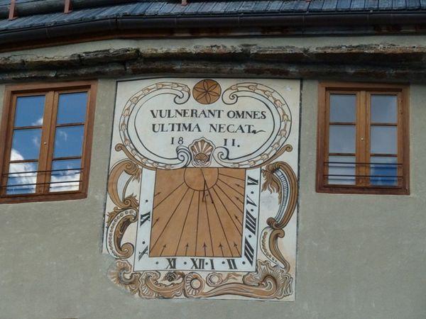 Des cadrans solaires du Briançonnais ...