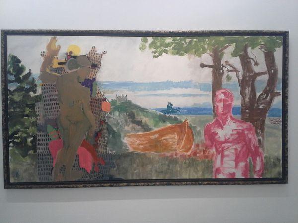 """En haut, """"Sans titre"""", 2013"""