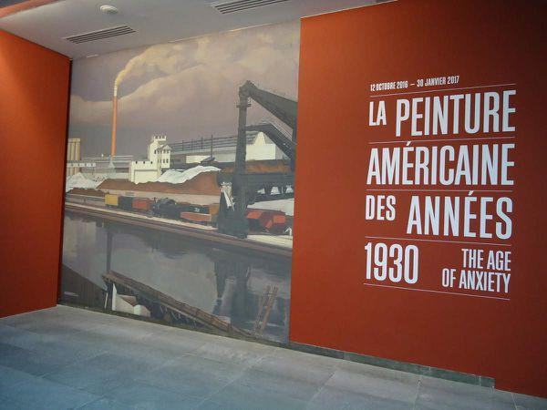 Les américains des années 30 à l'Orangerie