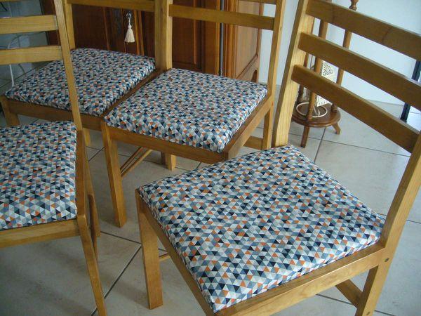 une seconde vie pour ces chaises!