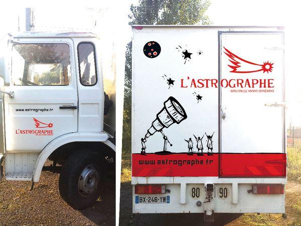 Vend Camion L'Astrographe / Envoyée par Hervé Pfortner le 02/02/2015