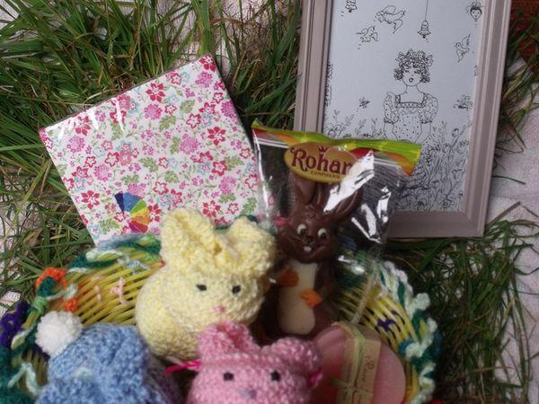 TOUS les cadeaux !! *Swap &quot&#x3B;Panier des Fleurs&quot&#x3B; * Bravo !!