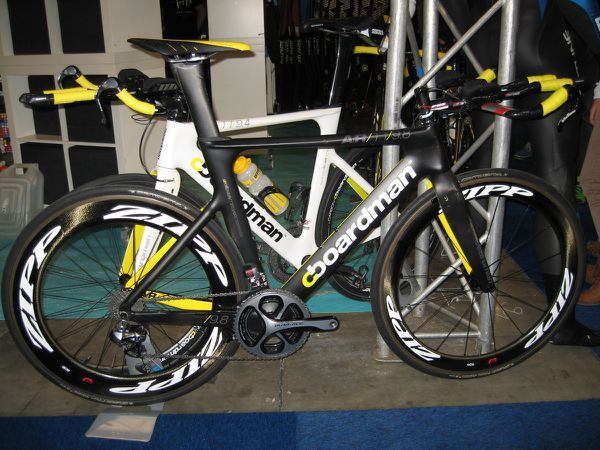 Boardman, Racer, Ridley au triathlon world