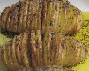 Pomme de terre rotie à la Suédoise