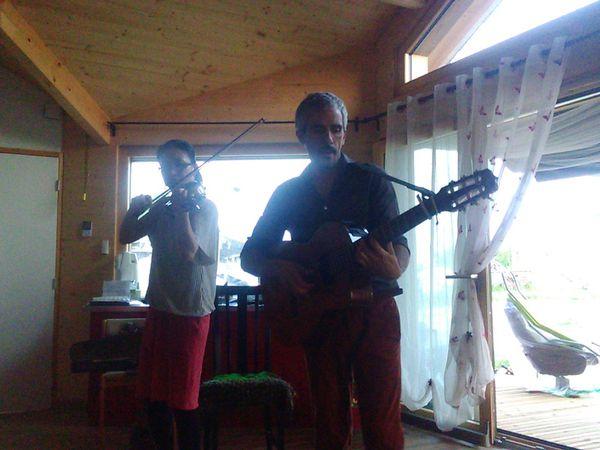 Ludovic B.A &amp&#x3B; Yoko Takeda - Concert en Aparté