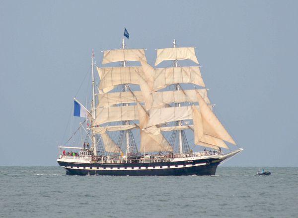 Des grands voiliers en escale à Cherbourg