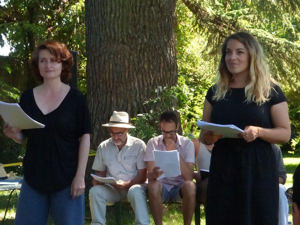 lecture du Dieu Dictionnaire ou le pouvoir des mots Blandine Costaz et Clémence Weill