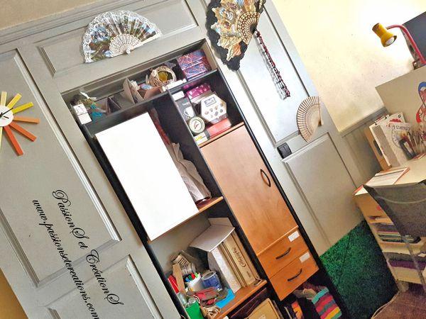Bricolage - Meuble - Bureau - Espace de travail - PassionS et CréationS - Décoration