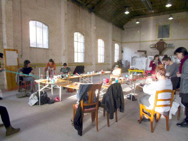 e.tissus : stage d'élèves de l'Ecole des Beaux-Arts d'Angers