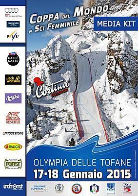 Locandina del Campionato di Coppa del Mondo di Sci femminile 2015