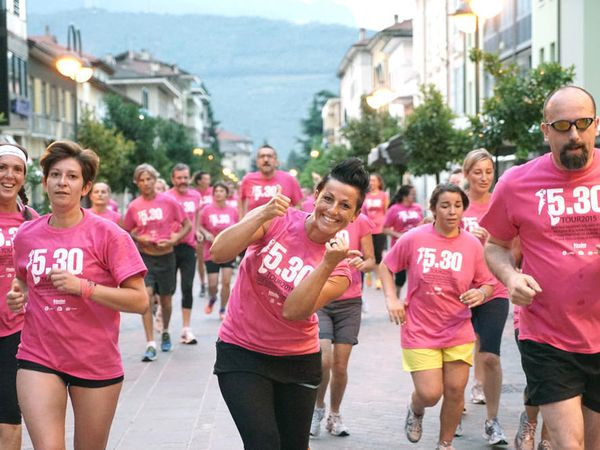 Run 5.30 Riva del Garda 2015. A Riva del Garda in oltre 1200 allo start