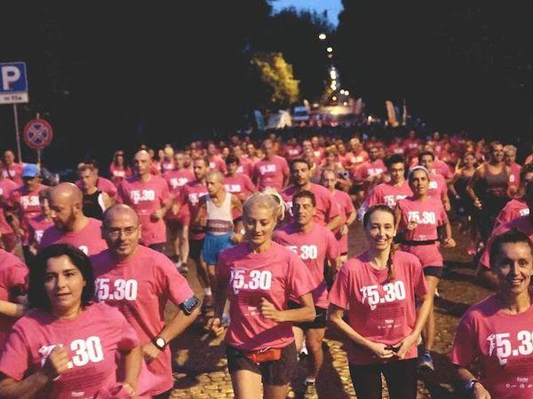 5.30 Run Roma. In 600 l'hanno corsa nella mattina del 31 luglio