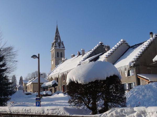 Dimanche 8 février, Méaudre sous un soleil radieux pour échapper à un terrible mistral à Valence !