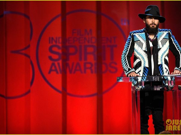 * Jared Leto -  Most Colorful Guy @ Spirit Awards 2015
