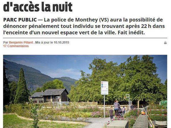 """Regardez ces panneaux, ils sont uniques en Suisse (selon l'enquête du quotidien """"Le Matin"""")"""
