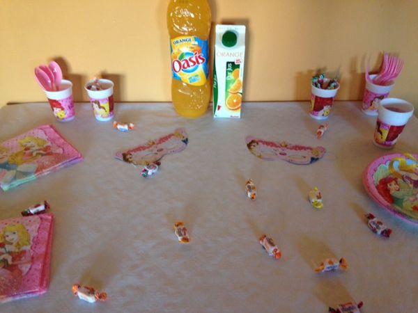 4 ans de Mlle Z : Sa Sweet Table d'Anniversaire !