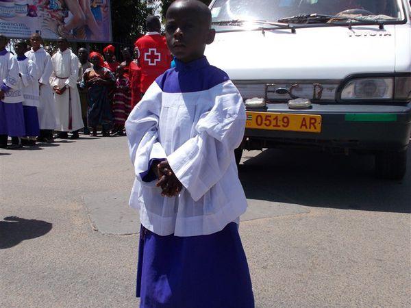 Chemin de Croix du Vendredi Saint à Lomé
