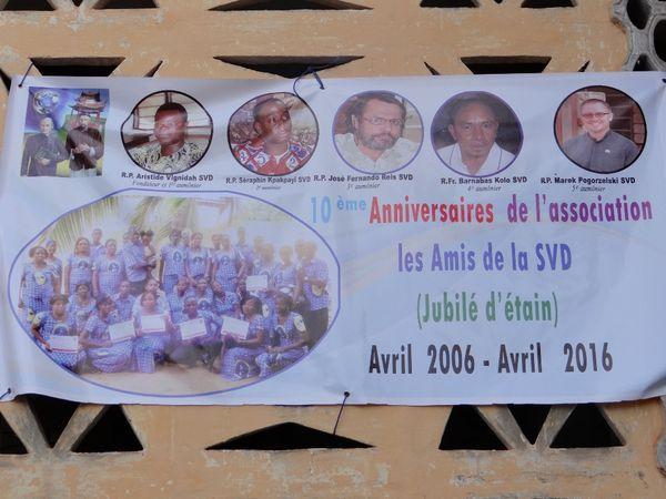 Amis de la SVD fêtent leur jubilé de 10 ans