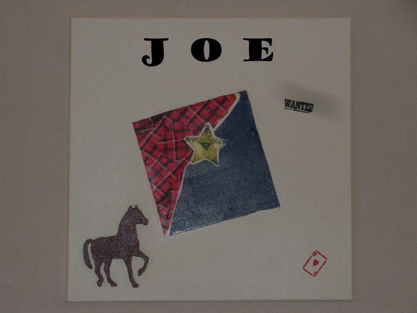 La toile et la boite de Joe...