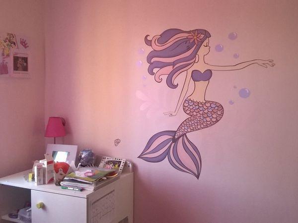 La chambre de notre Princesse Sirène finalisée