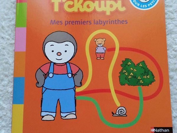T'choupi mes premiers labyrinthes