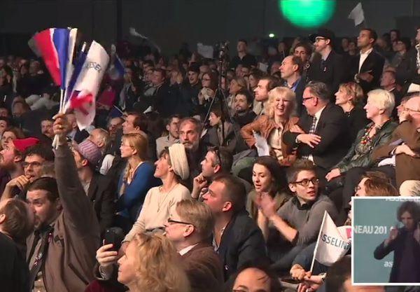 6500 personnes au meeting de François Asselineau le 25 mars 2017 à Paris-La Vilette