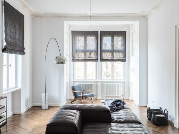 Un appartement au style masculin à Berlin