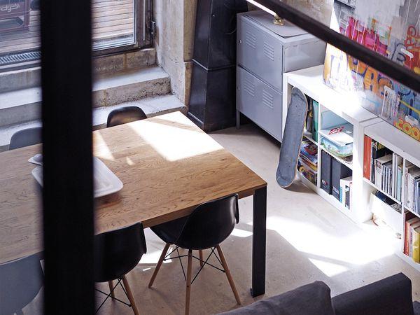 Un loft d'artiste à Marseille