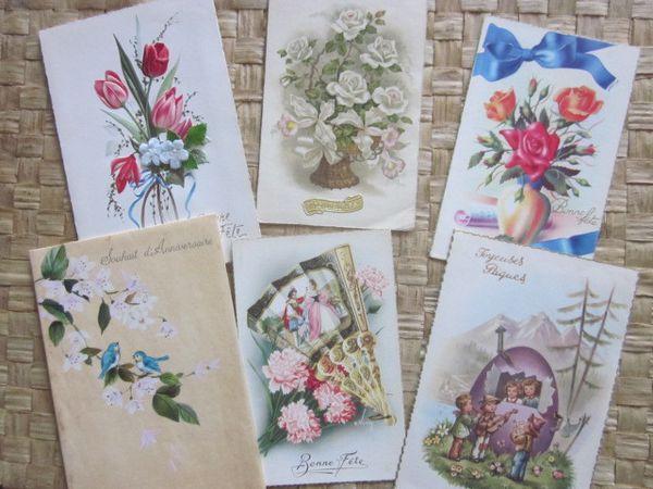 Echange de cartes postales