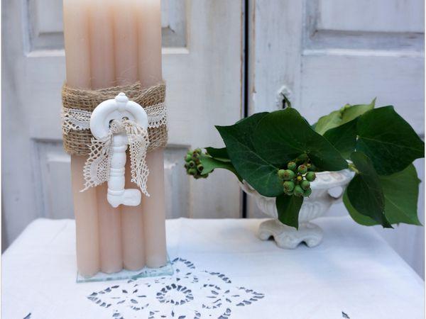 Bougies romantiques en boutique
