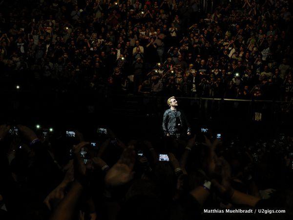 Photos prises par Matthias Muehlbradt / U2gigs.com