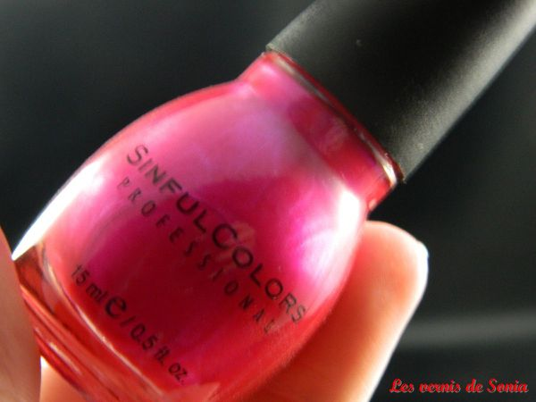 Vernis Sinful Colors Professionnal
