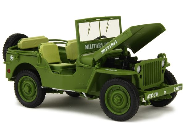 Jeep Willys US Army au 1:43 et 1/18 (Triple 9 Collection)