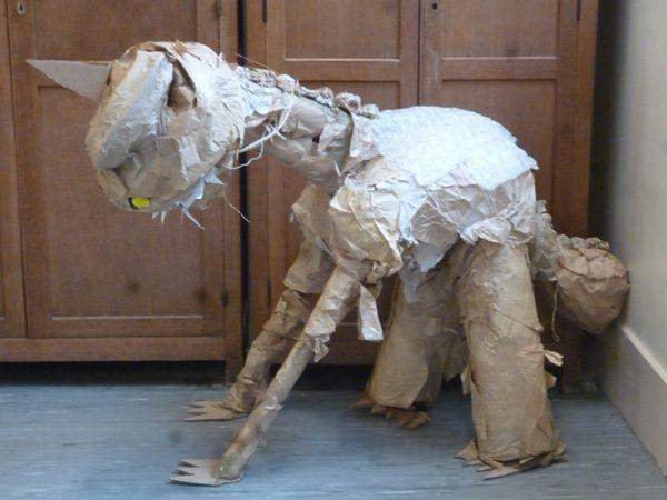 Le loup  au temps des dinosaures